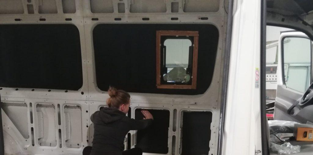 Campervan Isolierung mit Armaflex