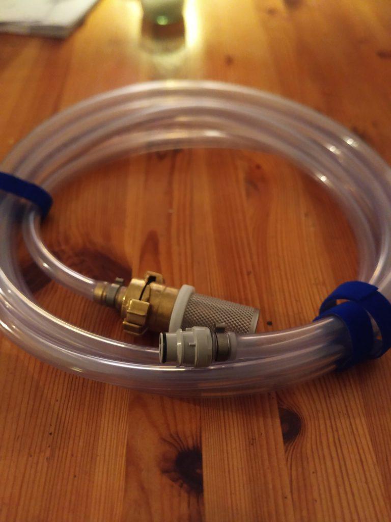 Wassersystem Filter Einfuellschlauch
