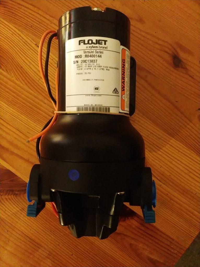 Wassersystem Filter Pumpe