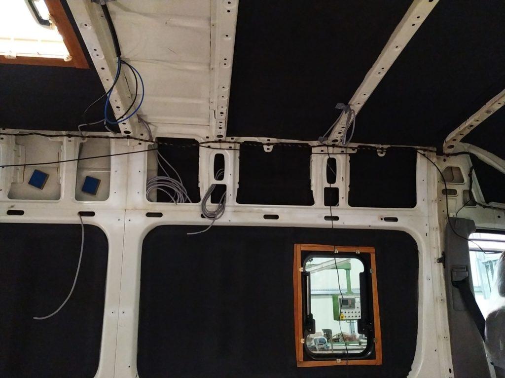 Solarpaneel Verkabelung Campervan